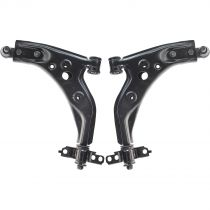 1997 - 1999 Mercury Tracer Front Lower Control Arm with Ball Joint Pair