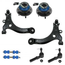 2000 - 2003 Chevy Impala Front Steering & Suspension Kit 8 Piece for Models with ABS