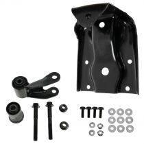 1999 - 2013 Chevy Silverado 1500 Rear Leaf Spring Shackle & Bracket Repair Kit Driver or Passenger Side (Except Crew Cab)