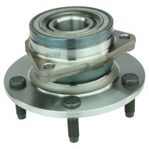 1994 - 1999 Dodge Ram 1500 Truck 4WD Front Wheel Bearing & Hub Assembly for Models with 2 Wheel ABS (Timken)
