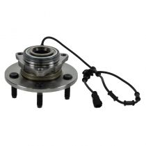 2006 Dodge Ram 1500 Truck SLT 2 Wheel Drive Front Wheel Bearing & Hub Assembly for Models with 4 Wheel ABS Driver or Passenger Side (excluding Mega Cab)