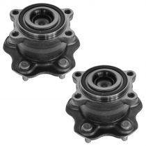 2007 - 2013 Nissan Altima Rear Wheel Bearing & Hub Assembly Pair