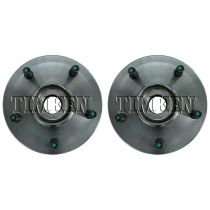 2006 - 2008 Dodge Ram 1500 Truck Front Wheel Bearing & Hub Assembly for Models with Speed Sensor & Rear Wheel ABS (excluding Mega Cab) Pair (Timken)