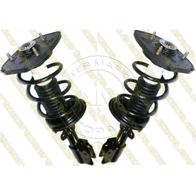 2000 2011 chevy impala rear strut spring assembly for. Black Bedroom Furniture Sets. Home Design Ideas