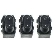 2004 Ford F150 Truck New Body Style Single Button Power Window Switch (Set of 3)