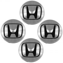 2003 - 2007 Honda Accord Brushed Aluminum Wheel Center Cap (Set of 4) Honda 44732S0XA01