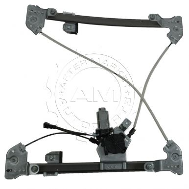 2004 Ford F150 Truck Power Window Regulator with Motor New Body Style Super Cab Models Front Driver Side (Motorcraft)