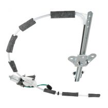 1997 - 2001 Jeep Cherokee   Power Window Regulator with Motor Front Driver Side