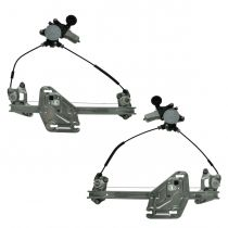 2006 - 2013 Mazda Miata MX-5 Power Window Regulator with Motor Pair