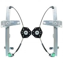 1999 Jeep Grand Cherokee Power Window Regulator (without Motor) Front Pair