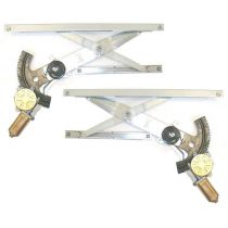1992 - 1998 Pontiac Grand Am 2 Door Coupe Power Window Regulator with Motor Pair (High Quality)