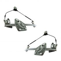2006 - 2012 Mazda Miata MX-5 Pair Front Window Regulator Power