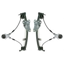 1997 - 2001 Lexus ES300 Window Regulator Power (without Motor) Rear Door Pair