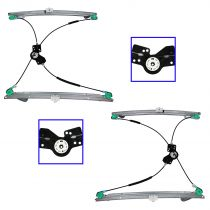 2001 - 2003 Chrysler Town & Country   Power Window Regulator Front Pair