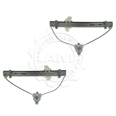 1996 2000 hyundai elantra manual window regulator front pair for 2000 hyundai elantra window regulator