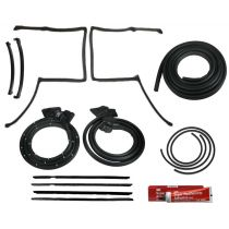 1981 - 1987 Pontiac Grand Prix with Reveal Molding T-Top Weatherstrip Seal Kit