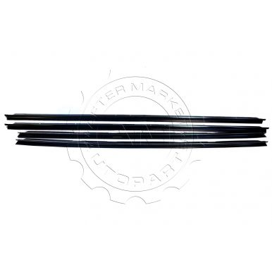 1980 - 1987 Pontiac Grand Prix Window Sweep (Set of 4) (without Reveal Moulding)