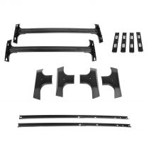 2009 - 2014 Chevy Traverse Black Roof Rack with Mounting Hardware General Motors 19244268