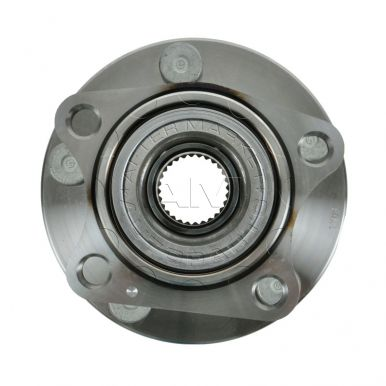 2007 ford edge rear wheel bearing replacement 4wd